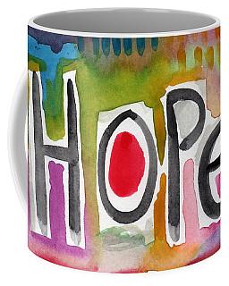 Hope- Colorful Abstract Painting Coffee Mug