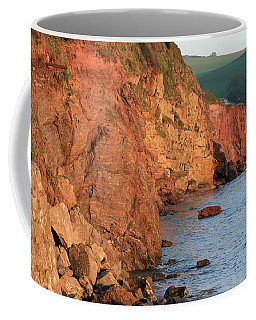 Coffee Mug featuring the photograph Hope Cove by Susan Leonard
