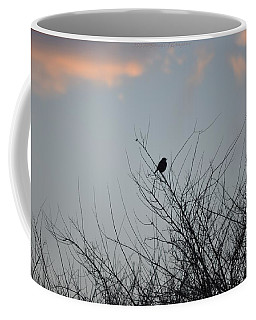 Hope Perched  Atop Coffee Mug