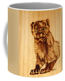Hope's Marten Coffee Mug by Ron Haist
