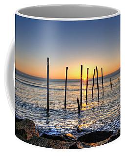 Horizon Sunburst Coffee Mug by Michael Ver Sprill