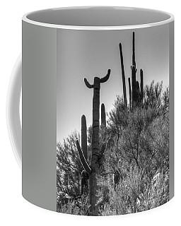 Horn Saguaro Cactus Coffee Mug