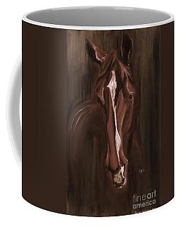 Horse Apple Warm Brown Coffee Mug