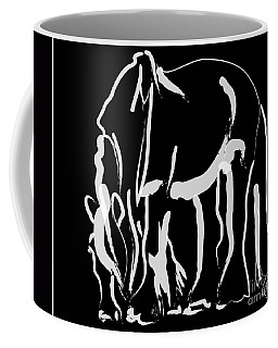 horse- Be strong Coffee Mug