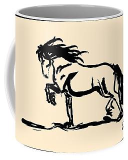 Horse - Blacky Coffee Mug