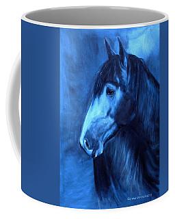 Horse - Carol In Indigo Coffee Mug