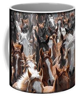 Horse Faces Coffee Mug