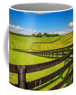 Horse Farm Fences Coffee Mug