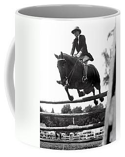 Horse Show Jump Coffee Mug