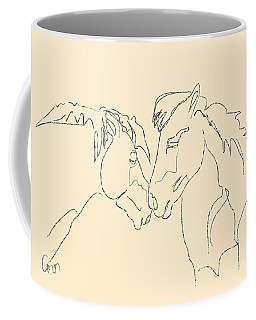 Horse - Together 3 Coffee Mug