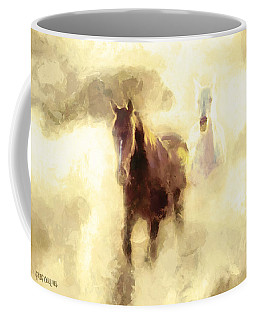 Horses Of The Mist Coffee Mug