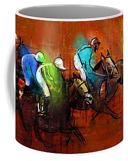 Horses Racing 01 Coffee Mug