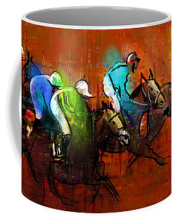 Horses Racing 01 Coffee Mug