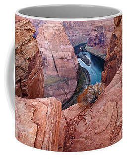 Coffee Mug featuring the photograph Horseshoe Bend At Dawn by Mae Wertz
