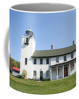 Coffee Mug featuring the photograph Horton's Point  by Karen Silvestri