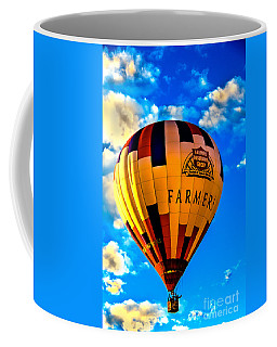 Hot Air Ballon Farmer's Insurance Coffee Mug