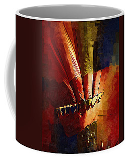 Hot Air Balloon Ready To Go Coffee Mug