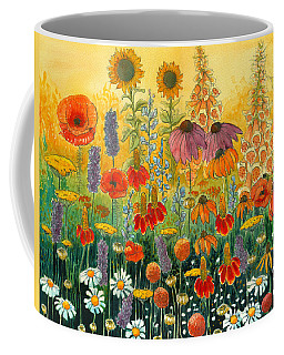 Coffee Mug featuring the painting Hot And Hazy by Katherine Miller