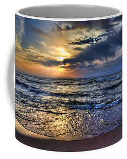 Hot April Sunset Saugatuck Michigan Coffee Mug