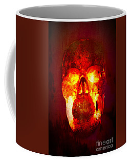 Hot Headed Skull Coffee Mug