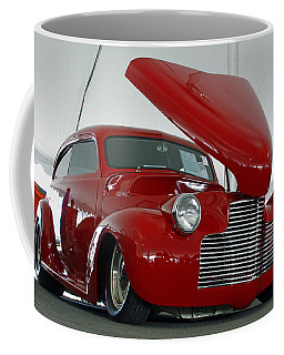 Coffee Mug featuring the photograph Hot In Red by Shoal Hollingsworth