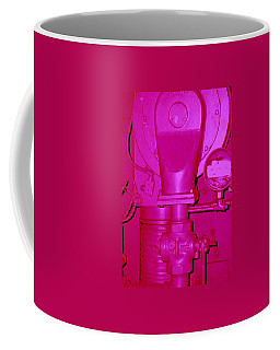 Coffee Mug featuring the photograph Hot Pink Generator by Cleaster Cotton
