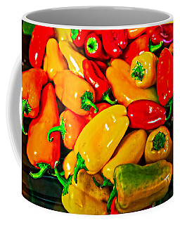 Hot Red Peppers Coffee Mug
