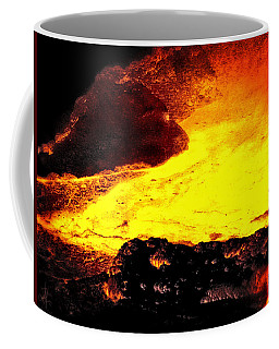 Hot Rock And Lava Coffee Mug