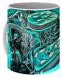 Hot Rod Engine Coffee Mug