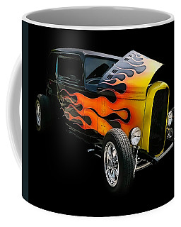 Coffee Mug featuring the photograph Hot Rod by Victor Montgomery