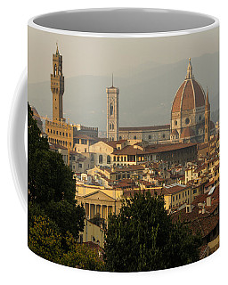 Hot Summer Afternoon In Florence Italy Coffee Mug by Georgia Mizuleva