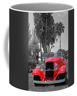 Coffee Mug featuring the photograph Hot V8 by Shoal Hollingsworth