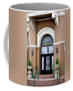 Hotel Door Entrance Coffee Mug