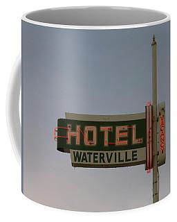 Hotel Waterville Neon Sign Coffee Mug