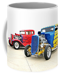 Coffee Mug featuring the photograph Hotties by Christopher McKenzie