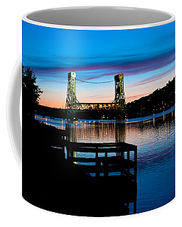 Houghton Bridge Sunset Coffee Mug