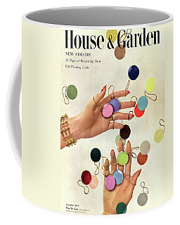 House & Garden Cover Of Woman's Hands With An Coffee Mug