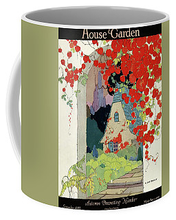 House And Garden Autumn Decorating Number Coffee Mug