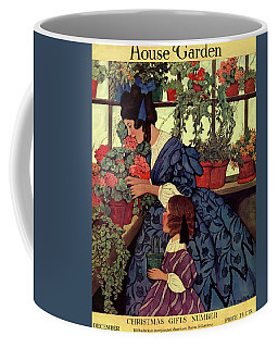 House And Garden Christmas Gift Number Cover Coffee Mug