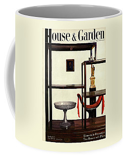 House And Garden Cover Featuring A Chinese Coffee Mug