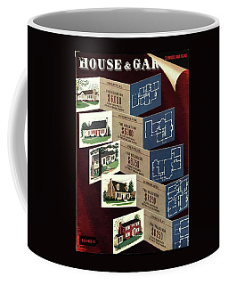 House And Garden Cover Featuring Houses Coffee Mug
