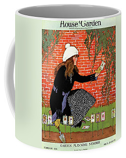 House And Garden Garden Planting Number Cover Coffee Mug