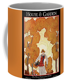 House And Garden House Planning Number Cover Coffee Mug