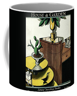 House And Garden Household Equipment Number Cover Coffee Mug