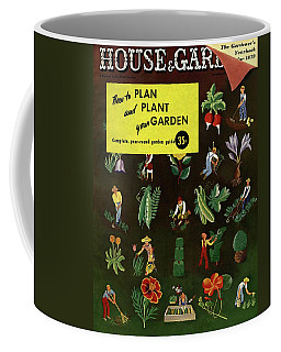 House And Garden How To Plan And Plant Coffee Mug