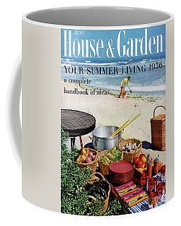 House And Garden Ideas For Summer Issue Cover Coffee Mug