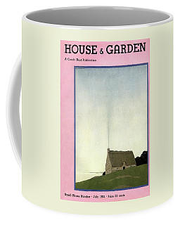 House And Garden Small House Number Cover Coffee Mug