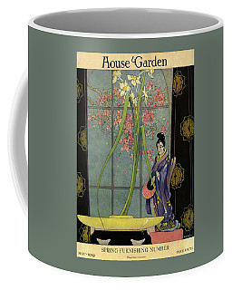 House And Garden Spring Furnishing Number Cover Coffee Mug