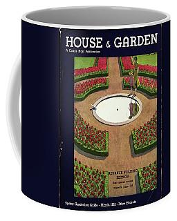 House And Garden Spring Gardening Guide Cover Coffee Mug