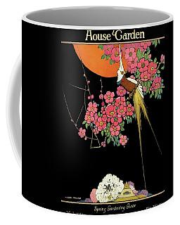 House And Garden Spring Gardening Guide Coffee Mug